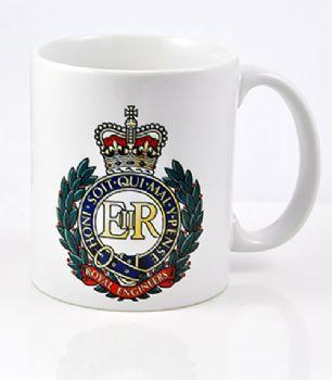 Royal Engineers Cap Badge Mug